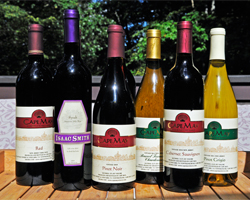 Cape May Wine: Cape May Red, Syrah, Pinot Noir, Riesling, Cabernet Sauvignon, Pinot Grigio