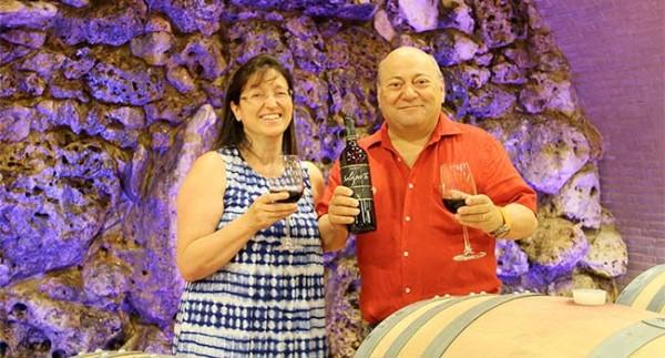 Francesco and Marisa Bellini