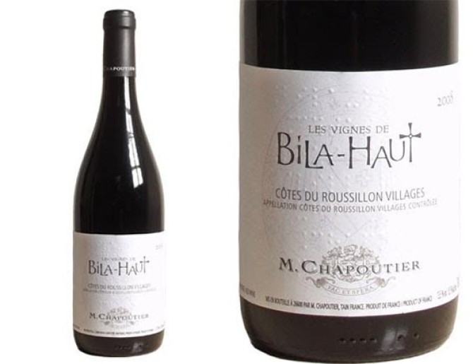 M. Chaputier Bila-Haut Cotes du Roussillon Villages 2014