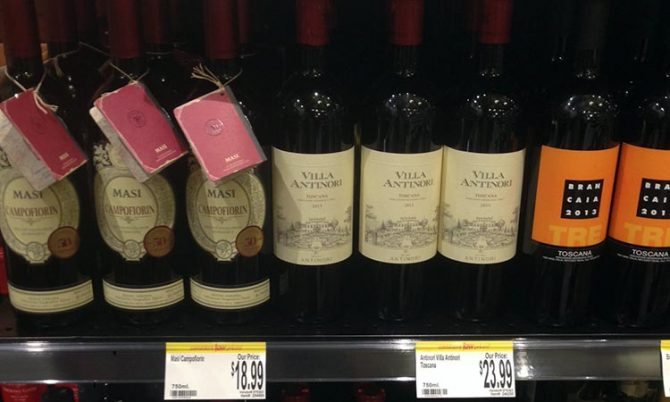 wine in pa supermarkets wegmans